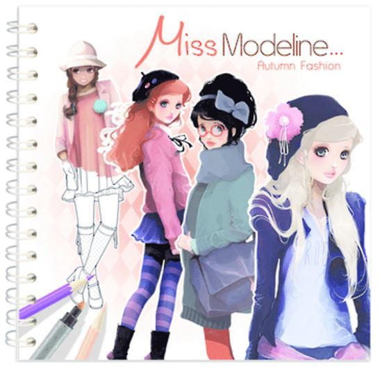 Miss Modeline Notebook - Autumn Fashion