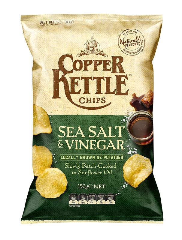 Copper Kettle - Sea Salt & Vinegar (150g)