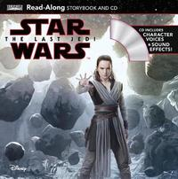 Star Wars: The Last Jedi Read-Along Storybook and CD by Elizabeth Schaefer