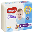 Huggies Ultra Dry Nappy Pants - Toddler Boy 9-14 kg (20)