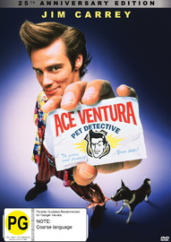 Ace Ventura: Pet Detective - 25th Anniversary Edition on DVD image