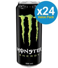 Monster Energy Drink 500ml (24 Pack)