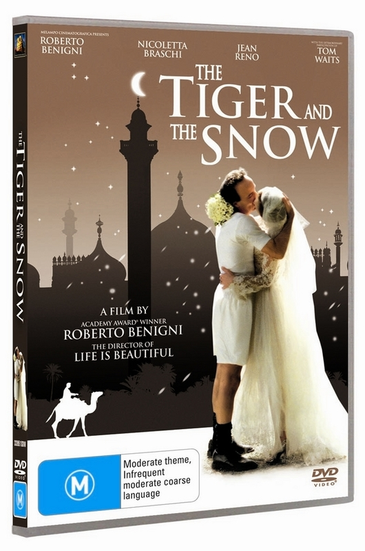 The Tiger And The Snow on DVD