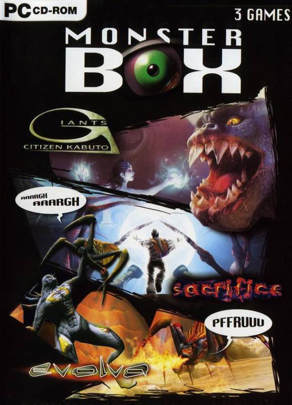 3in1 Monster Box Set (Giants/Sacrifice/Evolva) for PC Games