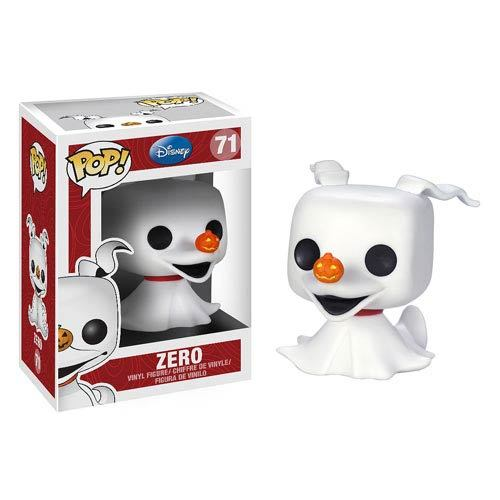 Nightmare Before Christmas Zero Pop! Vinyl Figure image