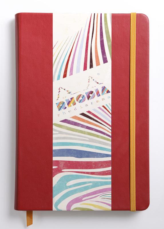 Rhodiarama A5 Webnotebook Lined (Poppy)