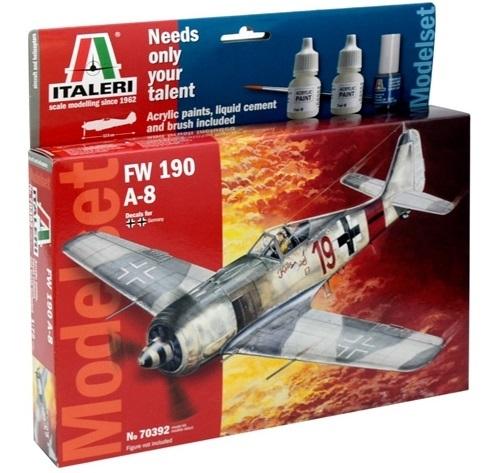 Italeri: 1/72 FW-190 A-8 - Model Set