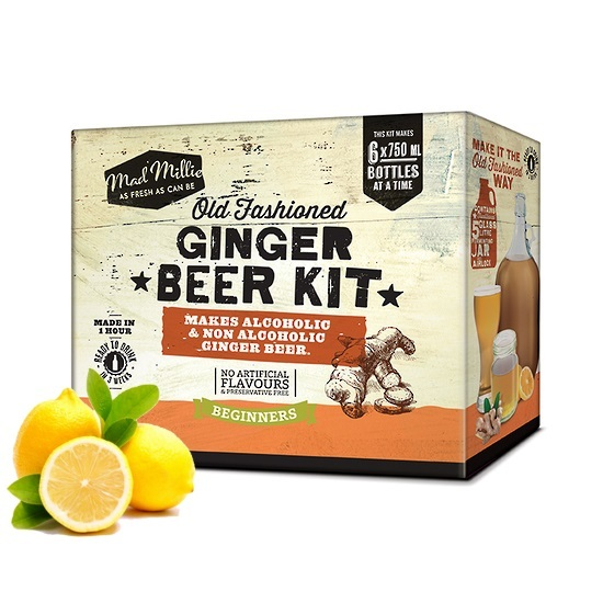 Mad Millie - Old Fashioned Ginger Beer Kit