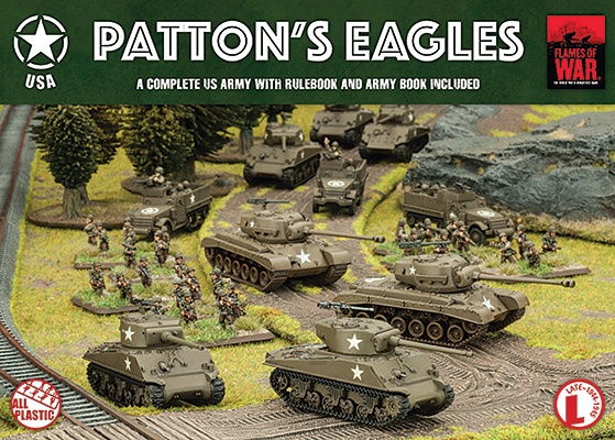 Flames of War: Patton's Eagles - Army Box
