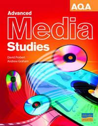 AQA Advanced Media Studies Textbook by David Probert image