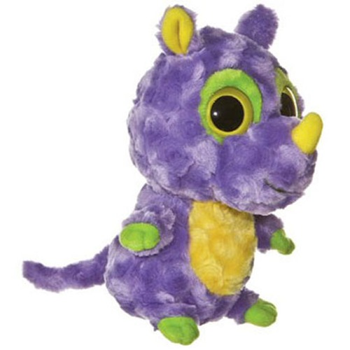 "Aurora World YooHoo & Friends: Jaban Rhinoceros - 8"" Plush image"