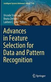 Advances in Feature Selection for Data and Pattern Recognition image