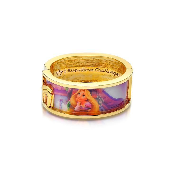 Couture Kingdom: Disney - Princess Rapunzel Dreaming Bangle (Yellow Gold) image
