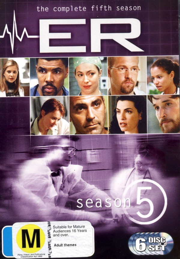 E.R. - The Complete 5th Season on DVD image