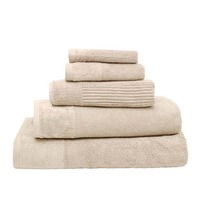 Bambury Costa Cotton Bath Towel (Stone)