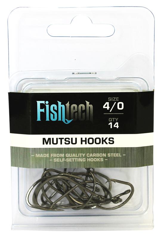 Fishtech Mutsu Hooks 4/0 (14 per pack)