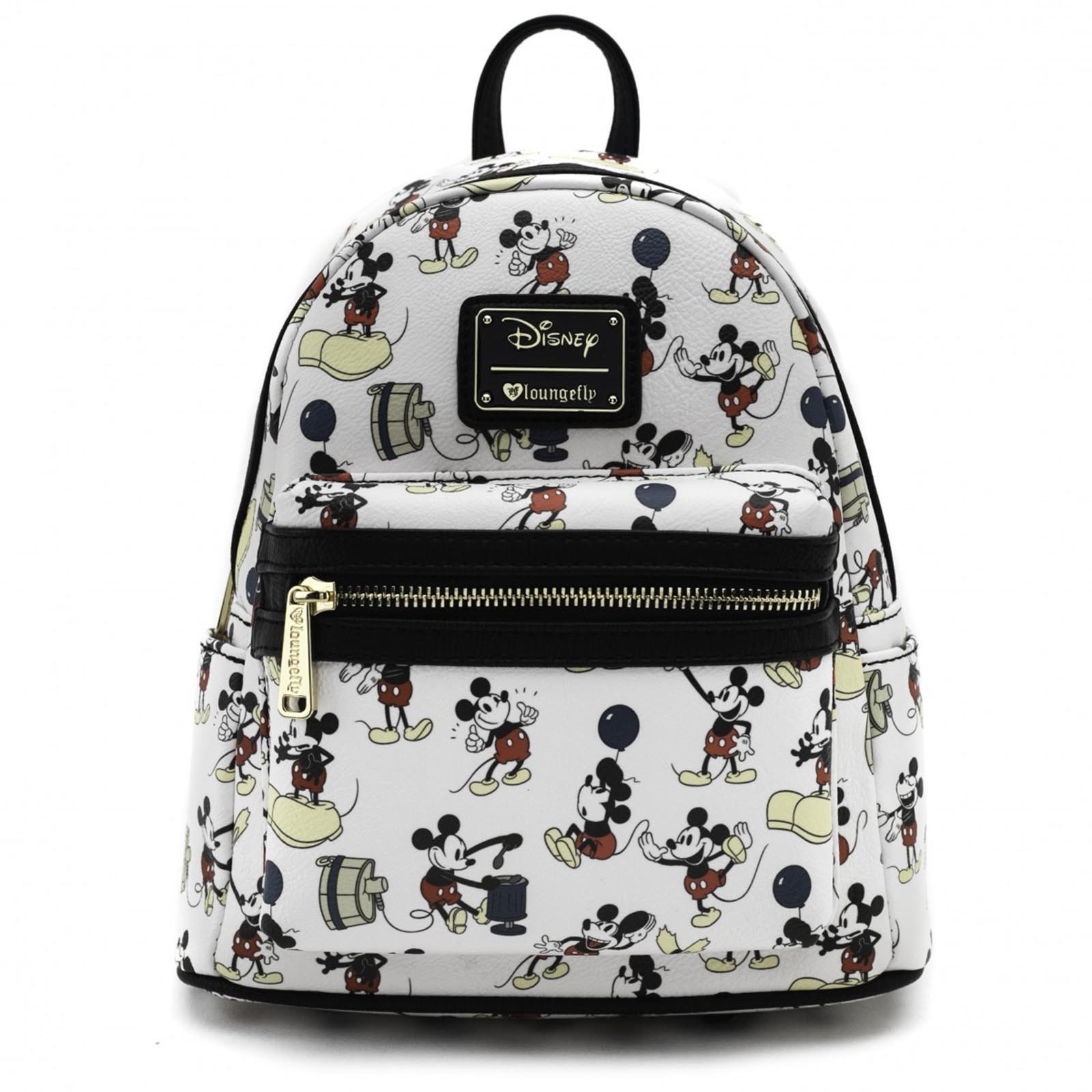 Loungefly: Disney - Mickey Print Mini Backpack image