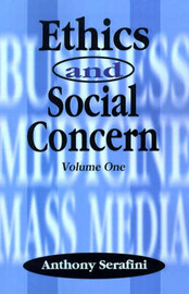 Ethics and Social Concern: Volume 1 image