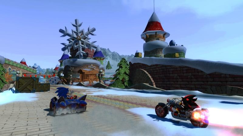 Sonic & SEGA All-Stars Racing for Nintendo Wii image