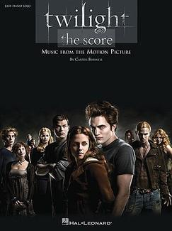 Twilight, the Score: Easy Piano Solo by Carter Burwell