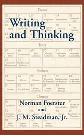 Writing and Thinking by Norman Foerster image