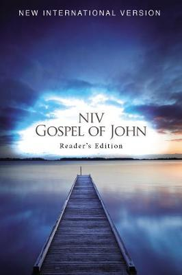 NIV, Gospel of John, Reader's Edition, Large Print, Paperback by Zondervan