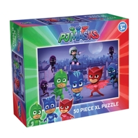 Holdson: PJ Masks - Into The Night 50 Piece XL Puzzle image