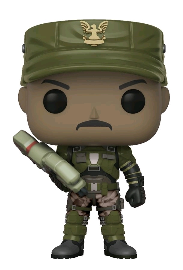 Halo - Sgt. Johnson Pop! Vinyl Figure (with a chance for a Chase version!) image