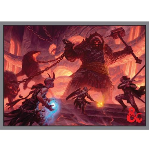 Dungeons and Dragons Fire Giant Standard Sized Sleeves 50c image