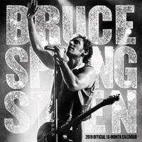Bruce Springsteen 2019 Square Wall Calendar by Inc Browntrout Publishers
