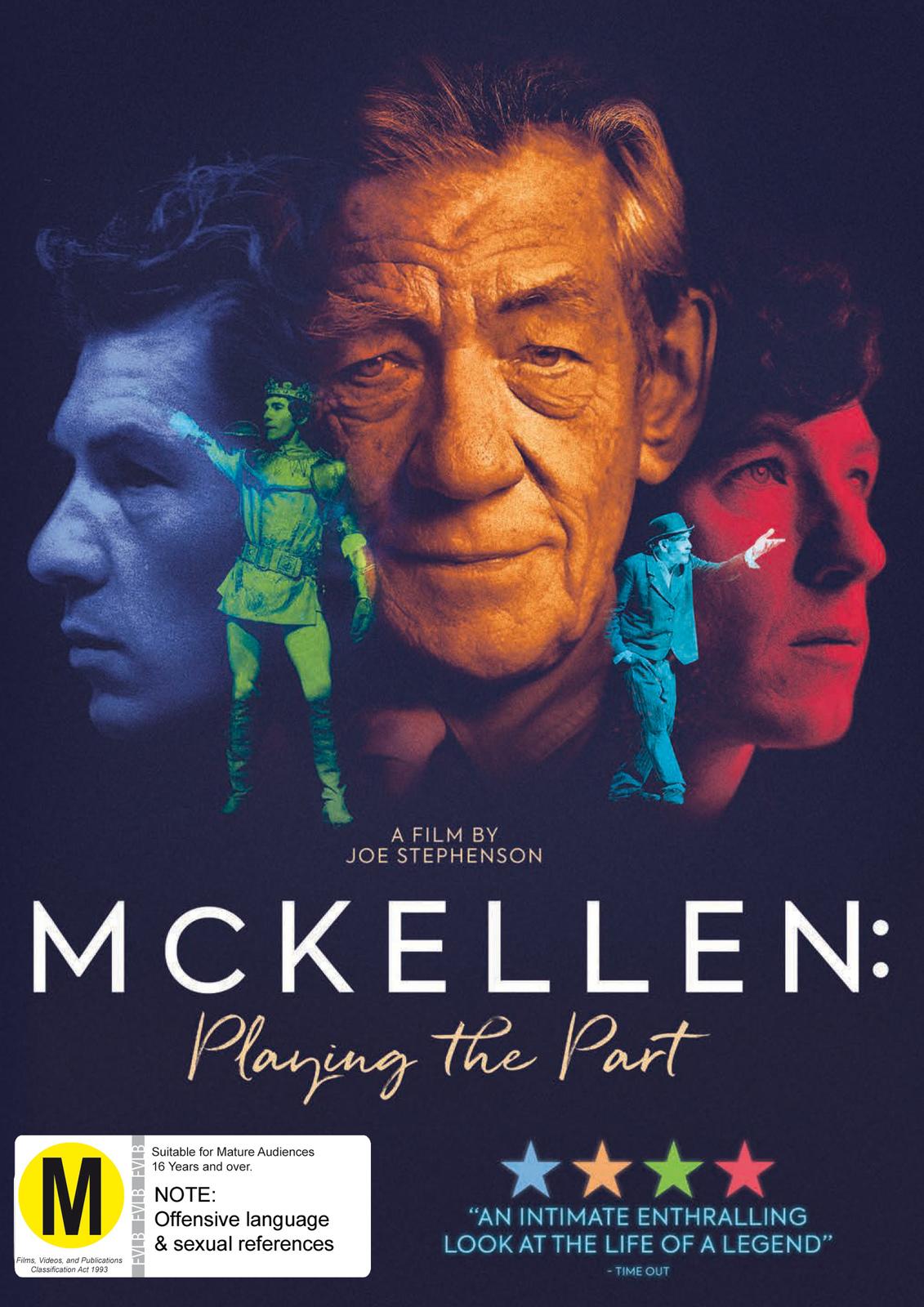 Ian McKellan: Playing the Part on DVD image