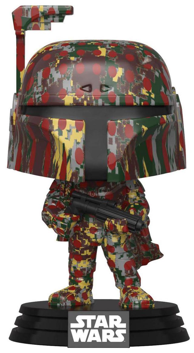 Star Wars - Boba Fett (Futura) Pop! Vinyl Figure + Protector (Pre-Sold Out) image
