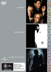 Casino / Scarface / Carlito's Way - 3 DVD Collection (3 Disc Set) on DVD