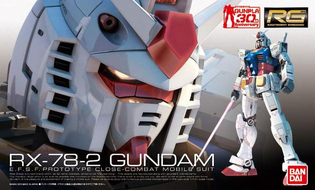 RG RX-78-2 Gundam 1/144 Model Kit