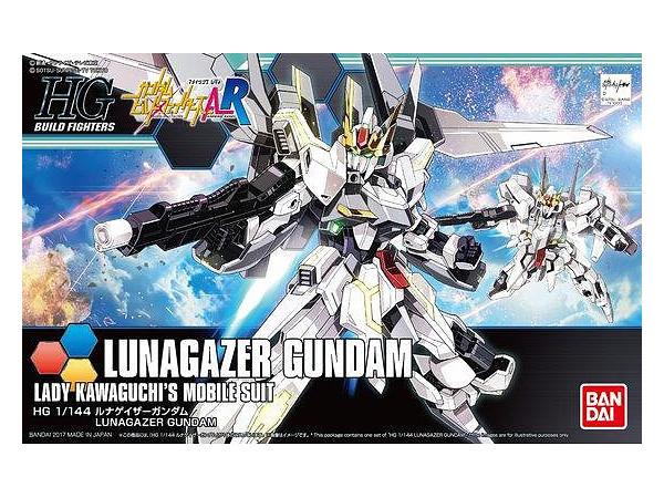 Gundam 1/144 HGBF Lunagazer Gundam Model Kit image