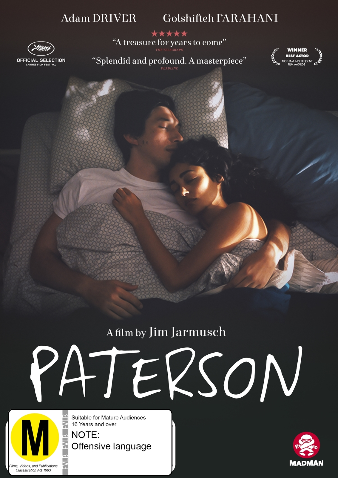 Paterson on DVD image