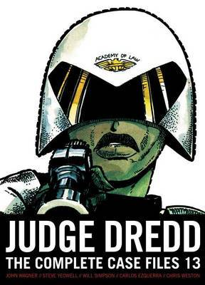 Judge Dredd: The Complete Case Files 13 by John Wagner image