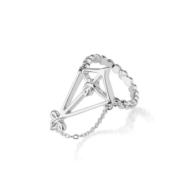 Couture Kingdom: Disney - Mary Poppins Kite Ring (White Gold) Size 6