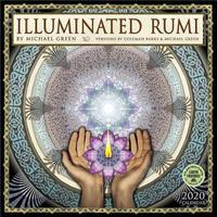 Illuminated Rumi 2020 Wall Calendar by Michael Green
