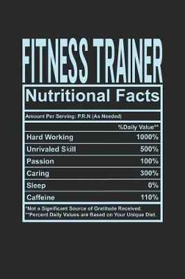Fitness Trainer Nutritional Facts by Dennex Publishing image