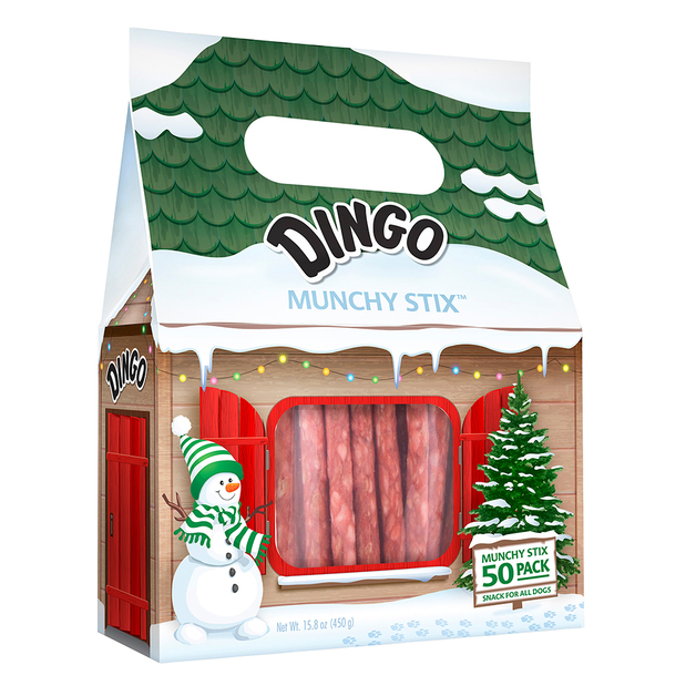 Dingo: Holiday Munchy Stix - 50 Pack