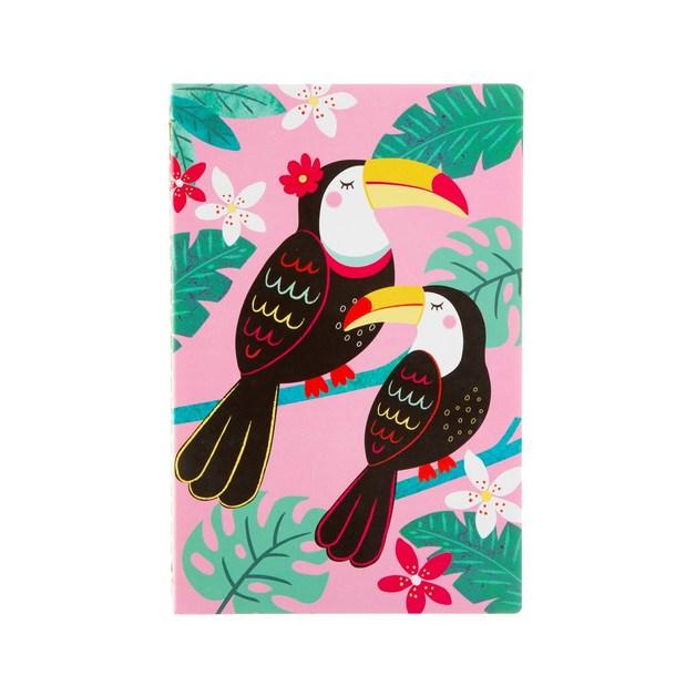 Sass & Belle: Tiki Toucan A5 Notebook