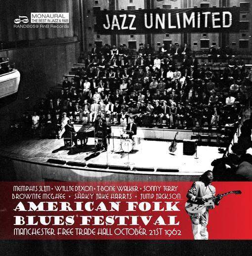 American Folk Blues Festival - Live In Manchester 1962 by Various