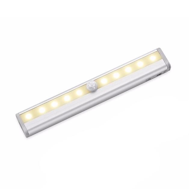 Smart Motion Sensor 10 LED Night Light (Warm Light)