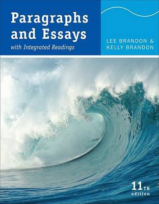 Paragraphs and Essays: With Integrated Readings by Lee Brandon image