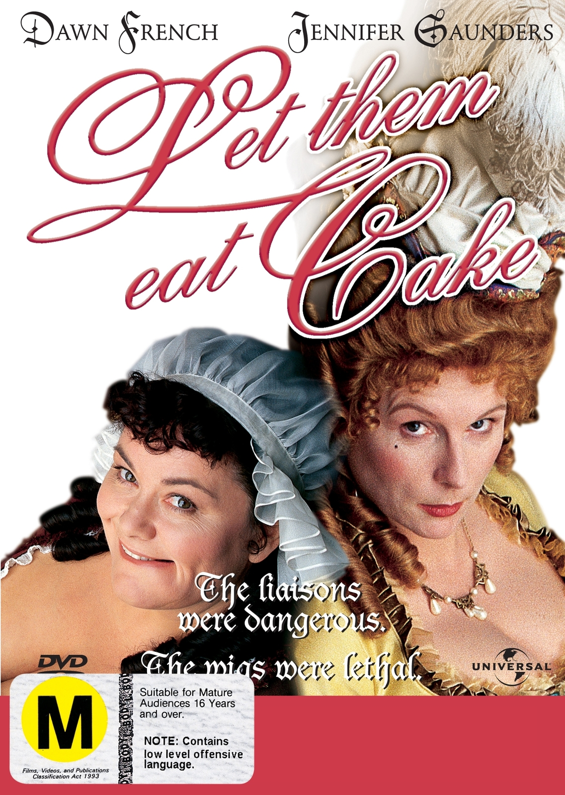 French & Saunders - Let Them Eat Cake on DVD image