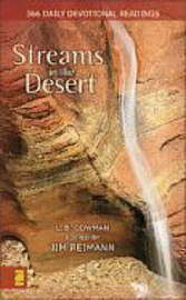 Streams in the Desert: 366 Daily Devotional Readings by L. B. E. Cowman image
