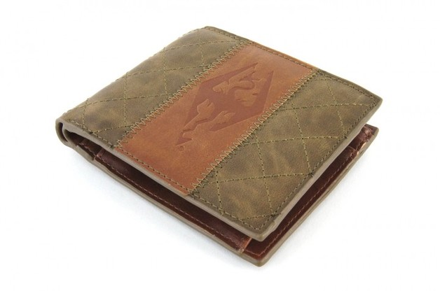 Skyrim Faux Leather Wallet - Armor
