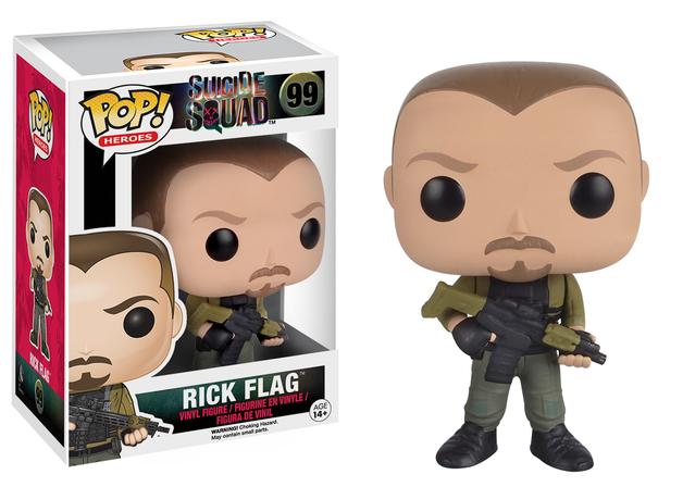 Suicide Squad - Rick Flag Pop! Vinyl Figure
