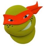 TMNT: Michelangelo Pizza Cutter